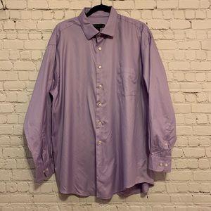 Pronto Uomo Lilac Dress Shirt